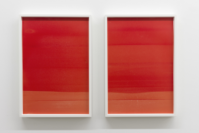 , 'Red (Landscape #1 and #2) ,' 2014, Galerie Nicolas Robert