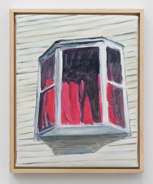 , 'Red Window,' 2017, Crush Curatorial
