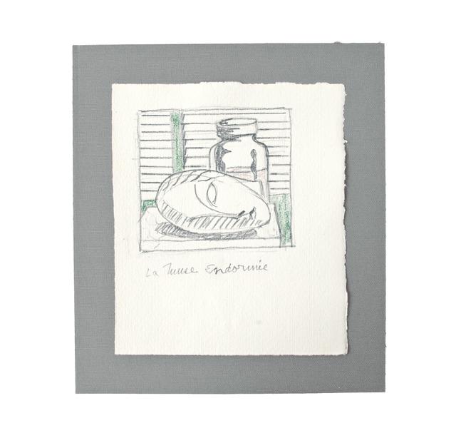 Roy Lichtenstein, 'La Muse Endormie', 1983, Miniature Museum Ria and Lex Daniels