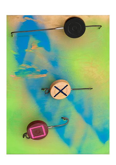 , 'Carrom station in motion,' 2019, Janet Rady Fine Art
