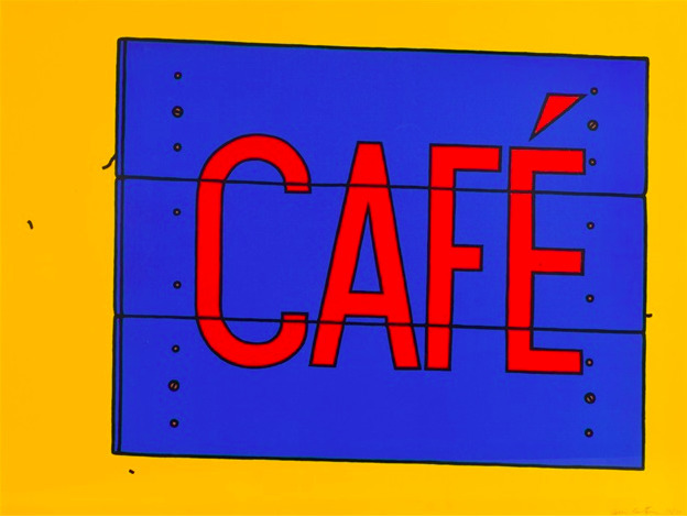 Patrick Caulfield, 'Cafe', 1968, Frestonian Gallery