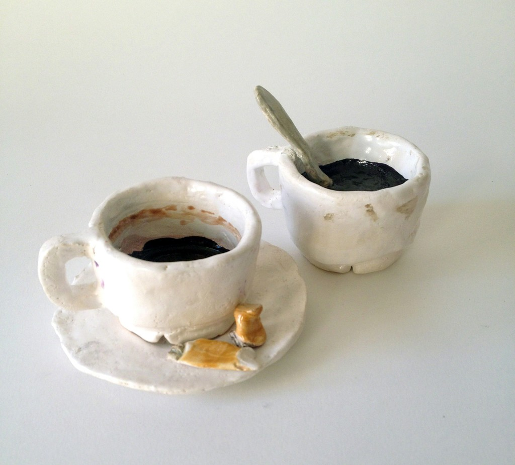 Rose Eken, 'Coffee Cup with saucer and cigarettes,' 2015, V1 Gallery