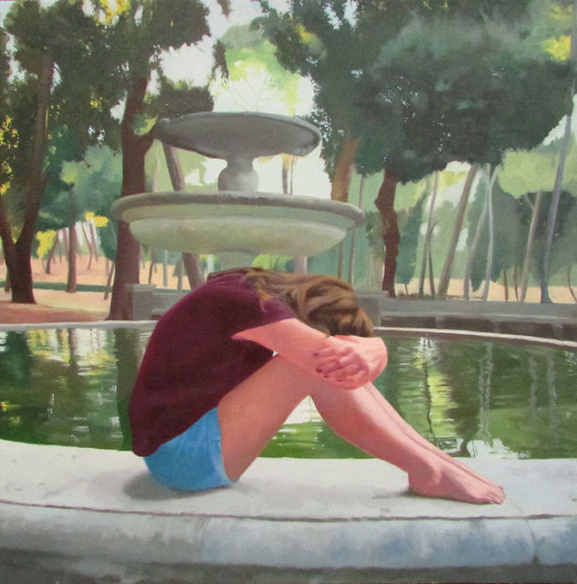 , 'By The Fountain,' 2017, Stern Gallery