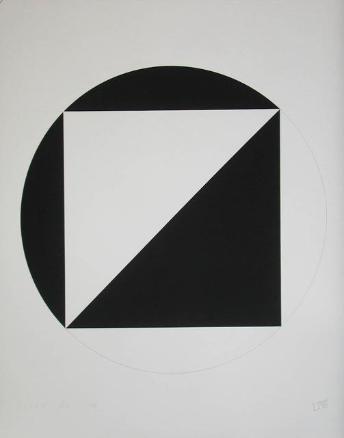 , 'quadrat und kreis - mappe blatt 5,' 1947-1976, Edition & Galerie Hoffmann