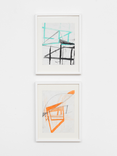 , 'DEVICE 10 (top drawing), DEVICE 9 (bottom drawing),' 2017, Geary