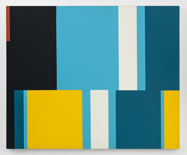 Nassos Daphnis, '3-90', 1990, Painting, Oil on canvas, Richard Taittinger Gallery