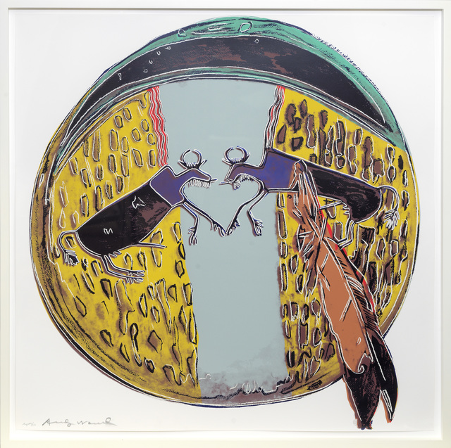 Andy Warhol, 'Plains Indian Shield', 1986, Print, Screenprint in colours., Sims Reed Gallery