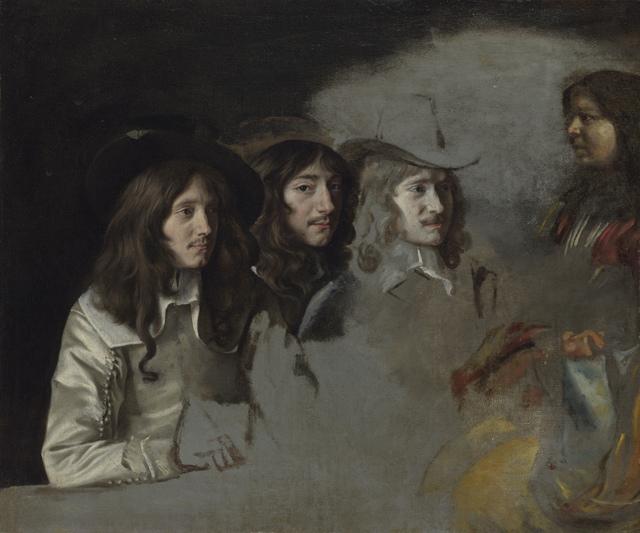 , 'Three Men and a Boy,' ca. 1640, Legion of Honor