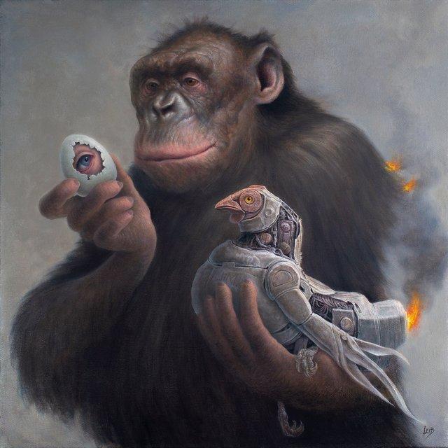 , 'Primate Directive,' 2019, Beinart Gallery