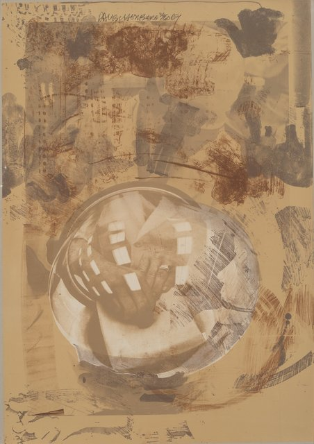 Robert Rauschenberg, 'Sack, from Stoned Moon Series', 1969, Heritage Auctions