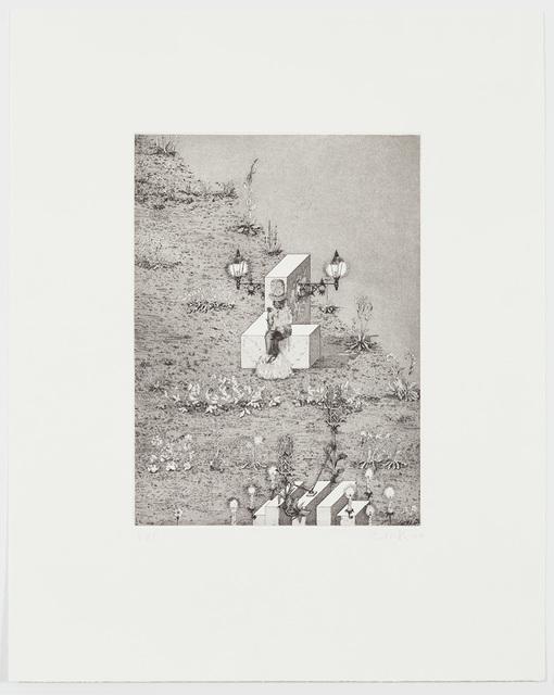 , 'Man with Flower,' 2017, Alan Cristea Gallery