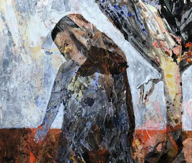 , 'Behind the Wall #3,' 2018, Zawyeh Gallery