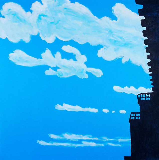 , 'Clouds and Castle,' 2015, Rena Bransten Gallery