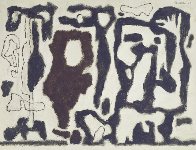, 'Afrikanische Spiele (African Games),' 1942, Galerie Klaus Gerrit Friese