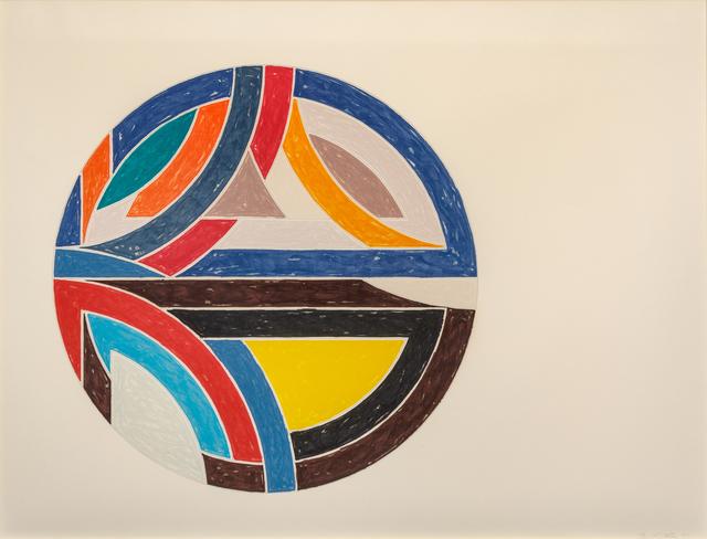 Frank Stella, 'Sinjerli Variation III', 1977, Print, Offset lithograph and screenprint, Hindman