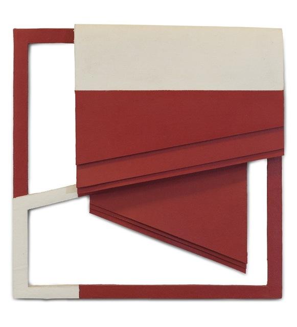 , 'Relevo (vermelho),' 2010, Galeria Leme