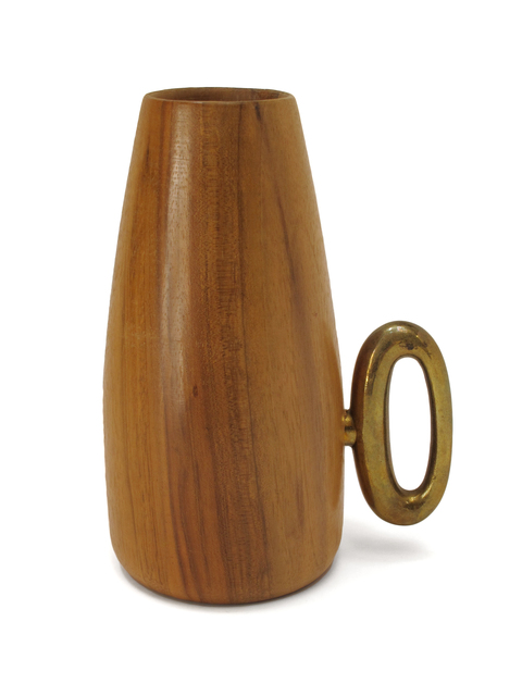 , 'Wood Cup with Corkscrew Handle,' ca. 1950, Patrick Parrish Gallery