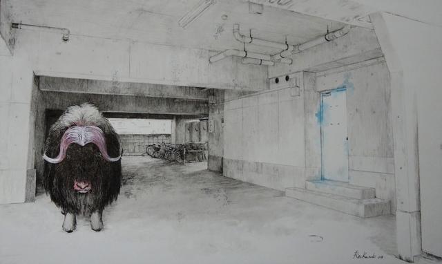 , 'HAZAMA-8 Muskox,' 2018, Mottas