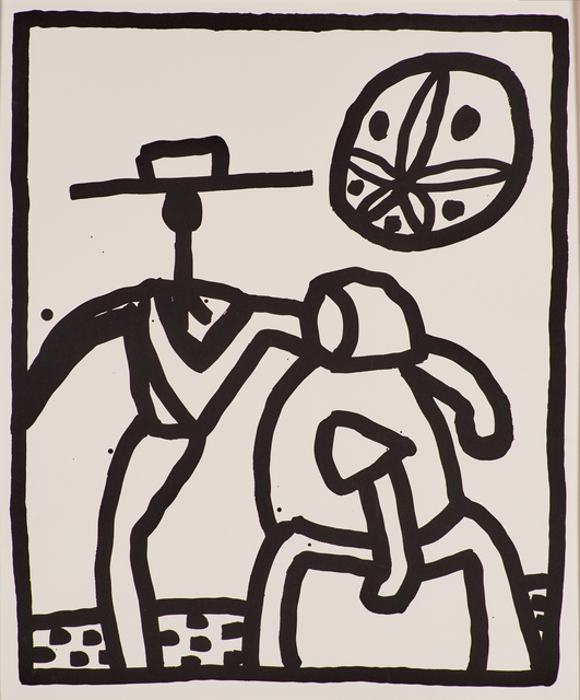 Keith Haring, 'Untitled', 1989, Rago