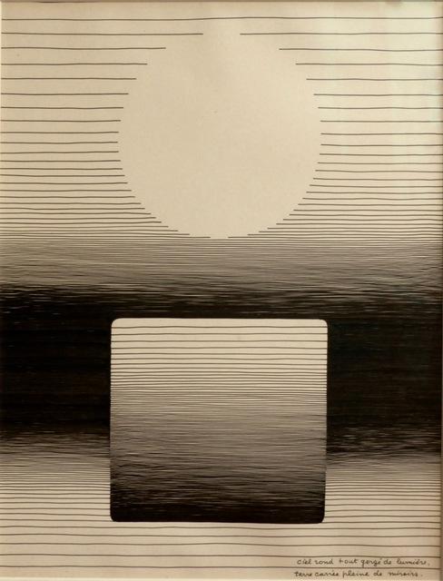 Michel Seuphor, 'Le feu et l'eau', 1959, Galerie aKonzept