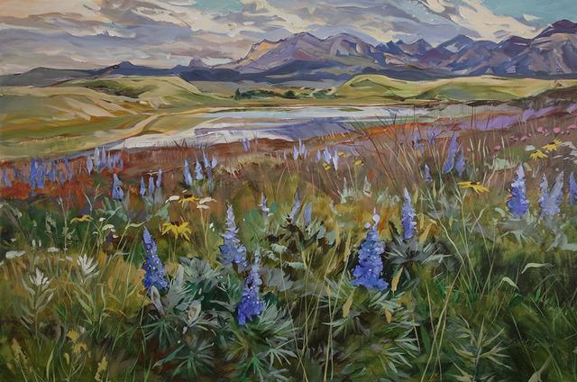 , 'Prairie Paradise,' 2018, Wallace Galleries