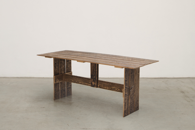 , 'Serial Planks collection Bench,' 2016, Nilufar Gallery