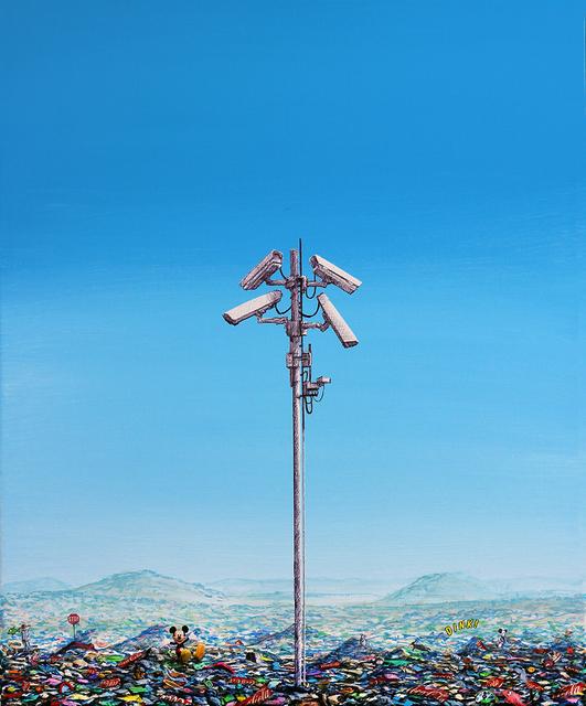 Jeff Gillette, 'Surveillance Tower Landfill', 2019, Addicted Art Gallery