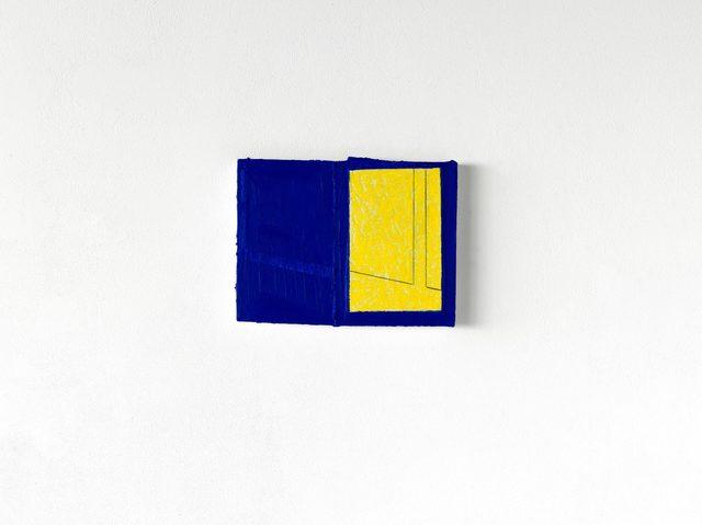 , 'Fugue Bleue,' 2016, Jeanne Bucher Jaeger