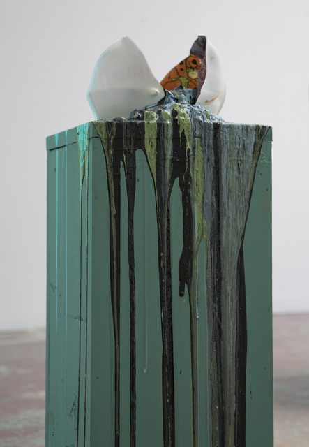 , 'Imploded Ball Barf (scooby doo),' 2011, Nina Johnson