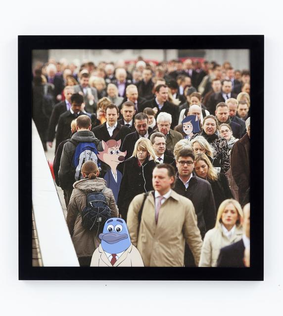 Ed Fornieles, 'London Has Fallen: Black Mass', 2015, CARLOS/ISHIKAWA