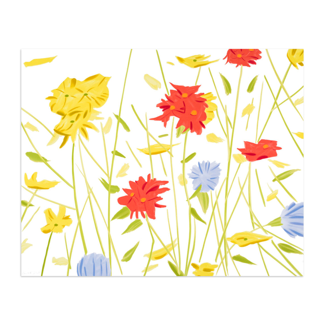 Alex Katz, 'Wildflowers', 2017, MLTPL