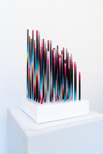 , 'CHROMADYNAMICA DIMENSIONAL 3,' 2018, Joshua Liner Gallery