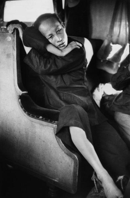 , 'Dans le train allant de Hong Kong à Canton,' 1 January 1957, Musée national des arts asiatiques - Guimet