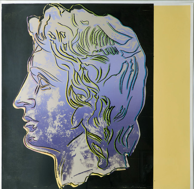 , 'Alexander the Great 291 Trial Proof by Andy Warhol,' 1982, Revolver Gallery