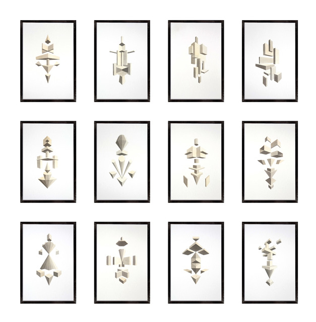 , '12 studies,' 2014, Nora Fisch