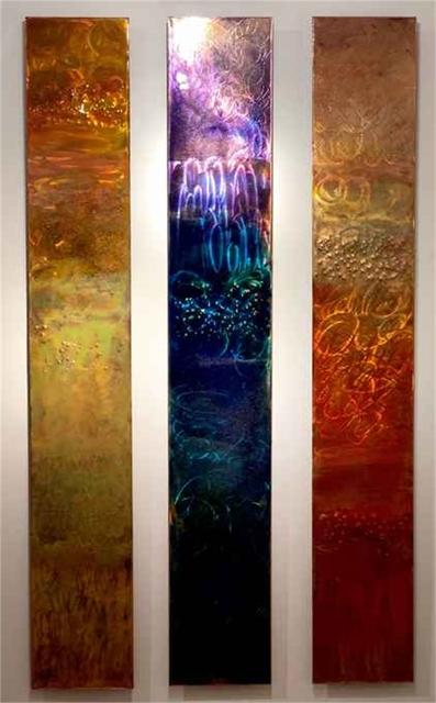 "Ken Rausch, 'Triptych flat 3 panel - 33""', Mixed Media, Whistler Contemporary"