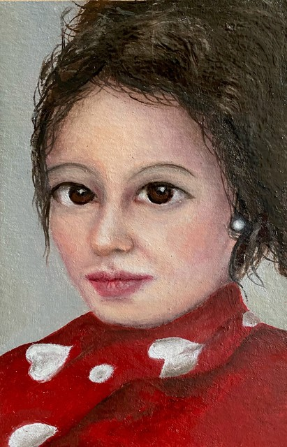 Graziella Mura, 'I believe In Love 1', 2021, Painting, Oil on paper, 33 Contemporary