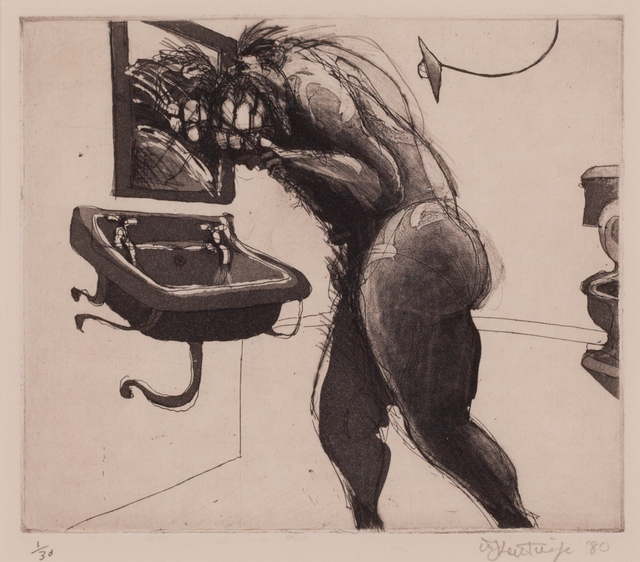 """, 'Untitled, from the """"Domestic Scenes"""",' 1980, Sylvan Cole Gallery"""