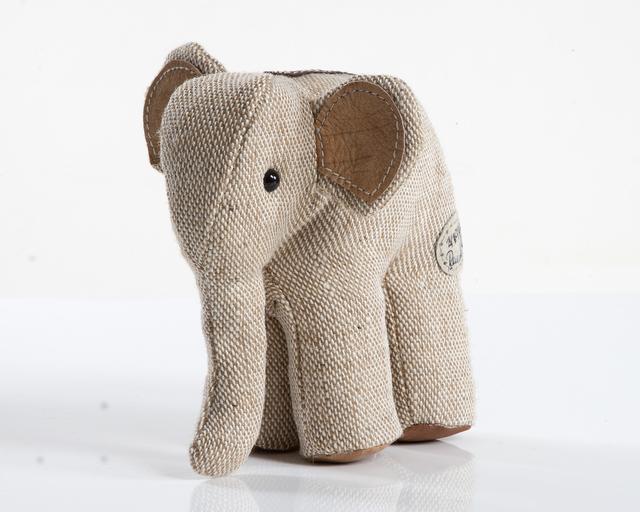 ", 'Miniature ""Therapeutic Toy"" Elephant,' 1969/2012, R & Company"