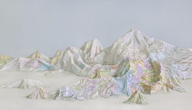 , 'The Map No. 6,' 2015, Klein Sun Gallery