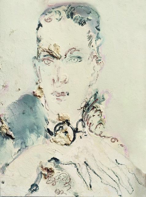 SRĐAN VUKČEVIĆ, 'Portrait with a High Collar', 2010, Museum of Modern Art Dubrovnik