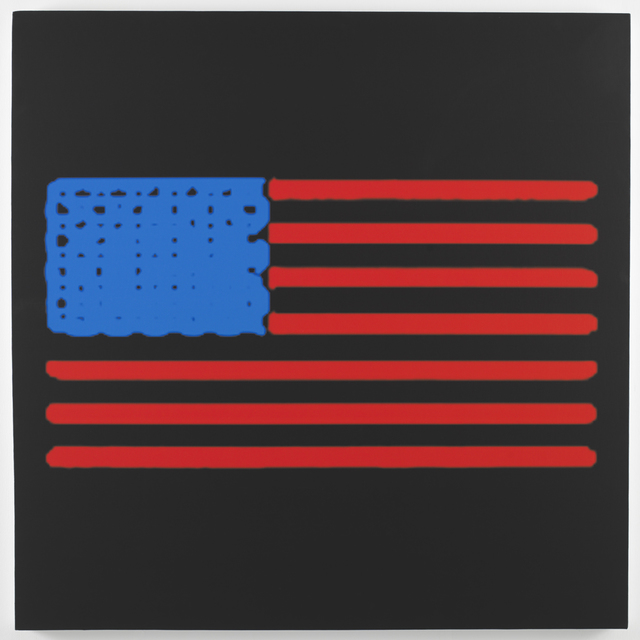 , 'Heating Element Flag,' 2014, Feuer/Mesler