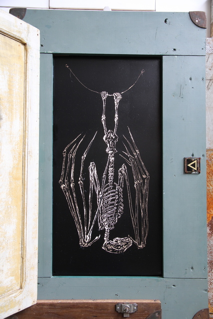 , ''Cholula Bat',' 2014, StolenSpace Gallery
