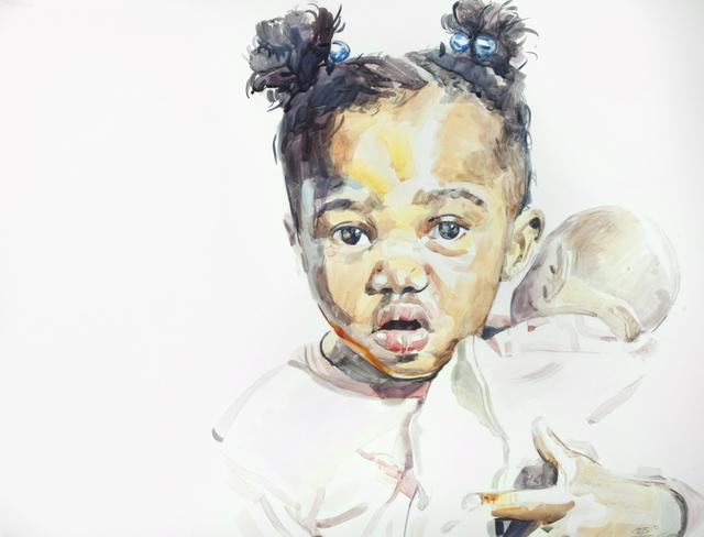Darius Steward, 'Babies Taking Care of Babies Plate 1 of 3', 2019, The Bonfoey Gallery