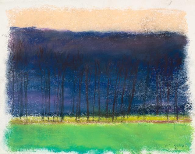 Wolf Kahn, 'Black Trees', 2016, Perry J. Cohen Foundation Benefit Auction