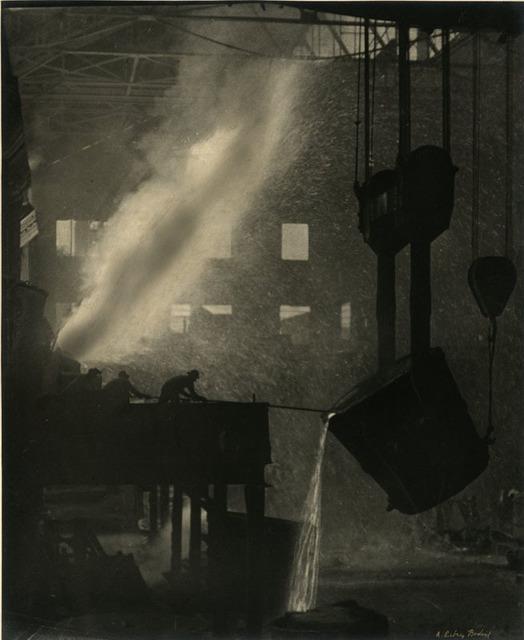 A. Aubrey Bodine, 'Bessemer Converter', Alan Klotz Gallery