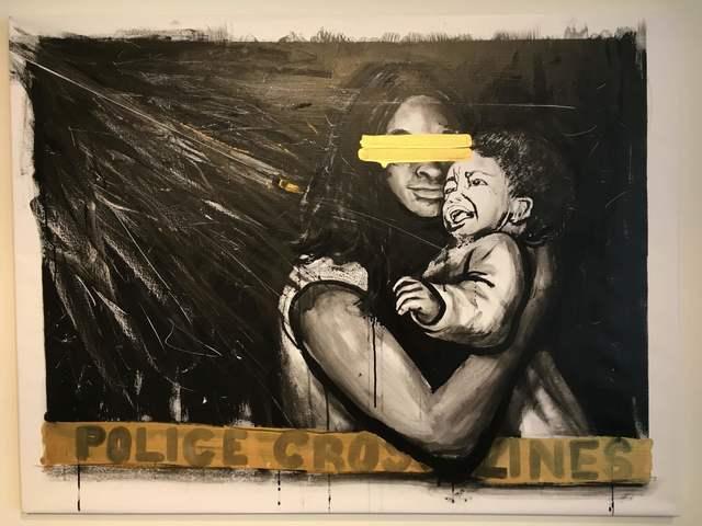 , 'Police Cross lines 3,' 2015, Long Gallery Harlem