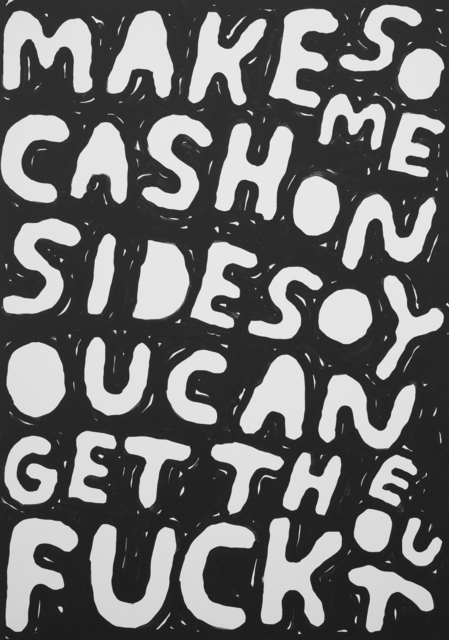 , 'Make Some Cash on Side,' 2017, Ruttkowski;68