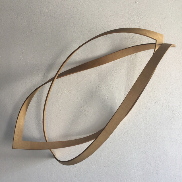 , 'folded square,' 1985, Edition & Galerie Hoffmann