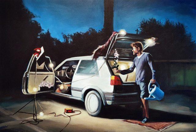 , 'Alquiler vacacional,' 2017, Galería Artizar